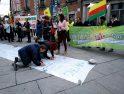 Crónica concentración en Madrid en apoyo al pueblo kurdo
