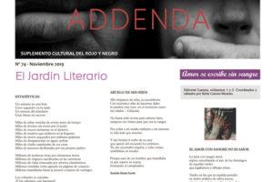 Addenda, suplemento cultural del RyN – Nº 74, noviembre 2019
