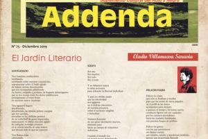 Addenda, suplemento cultural del RyN – Nº 75, diciembre 2019