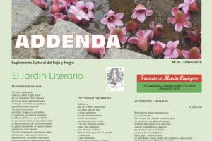 Addenda, suplemento cultural del RyN – Nº 76, enero 2020