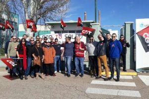 Satisfacción con la primera jornada de huelga en Verallia