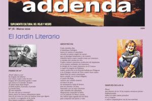 Addenda, suplemento cultural del RyN – Nº 78, marzo 2020