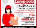 CGT califica de mentiras las explicaciones de Telepizza sobre las sanciones
