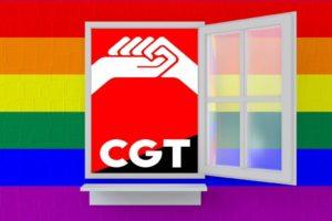 CGT conmemora el Día Internacional del Orgullo LGTBIQ+ llamando a tomar las calles para luchar contra las desigualdades del heteropatriarcado capitalista