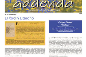 Addenda, suplemento cultural del RyN – Nº 81, junio 2020