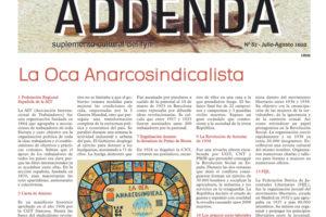 Addenda, suplemento cultural del RyN – Nº 82, julio-agosto 2020