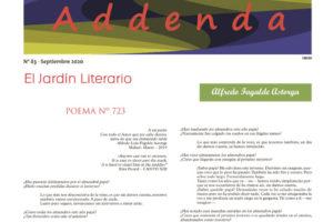 Addenda, suplemento cultural del RyN – Nº 83, septiembre 2020