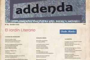 Addenda, suplemento cultural del RyN – Nº 84, octubre 2020