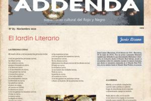 Addenda, suplemento cultural del RyN – Nº 85, noviembre 2020