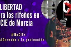 Libertad y derecho al asilo para los rifeños retenidos en Murcia