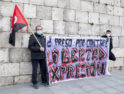 Valladolid, concentración por la libertad de Pablo Hasél y la derogación de la Ley Mordaza