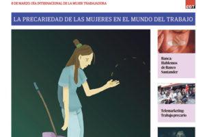 Especial 8-M Día Internacional de la Mujer Trabajadora – Marzo 2021