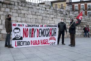 Valladolid: Concentración Solidaridad Pablo Hasél