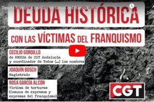 Vídeo: Memoria Histórica: Deuda histórica con las víctimas del Franquismo