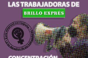 25-M: Concentración ante la sede de Brilloexpres