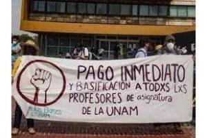 Movimiento de las y los profesores de base (Ayudantes y de Asignatura) de la Universidad Nacional Autónoma de México (UNAM)