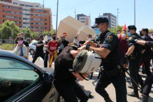 CGT condena la actuación policial en la visita de Felipe VI a la UJI