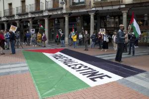 Concentración Día de la Nabka 2021 en Valladolid
