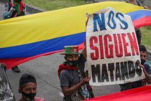 Solidaridade co pobo colombiano