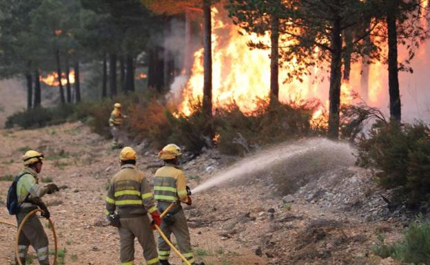 CGT exige la inmediata activación del operativo de prevención y extinción de incendios forestales de la Junta de Castilla y León