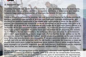 Carta al Escuadrón 421 del EZLN desde CGT Castilla y León