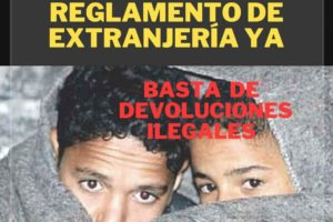 10-S: Concentración «Reforma del Reglamento de Extranjería ya»