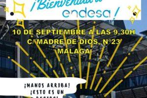 Directivos de Endesa, bienvenidos a Málaga