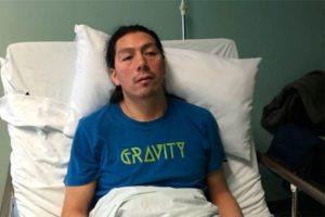 Libertad para el machi, enfermo, Celestino Córdova (Chile)
