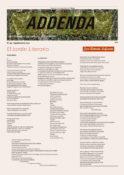 Addenda, Suplemento Cultural del RyN – Nº 94 – Septiembre 2021