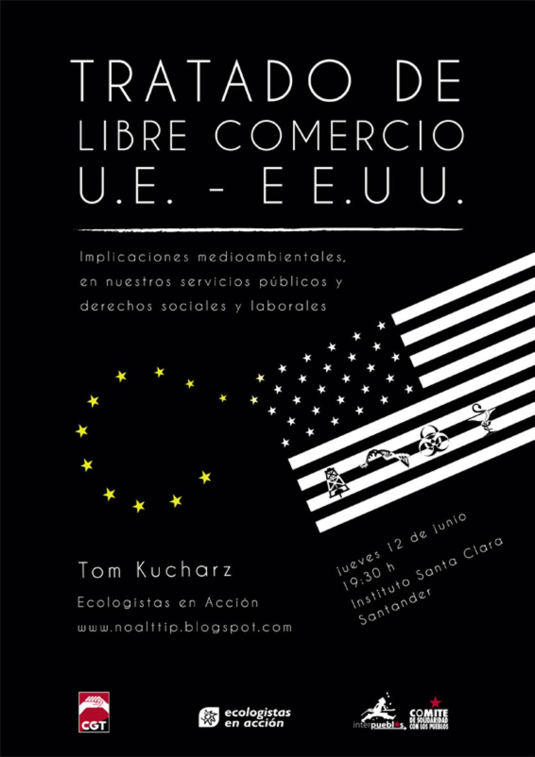 Charla sobre el Tratado de Libre Comercio entre EEUU-UE (TTIP)