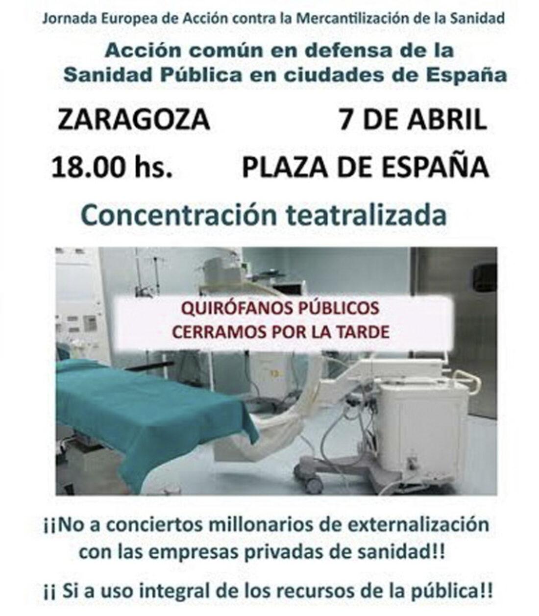 7-A:  Jornada Europea de Acción en defensa de la Sanidad Pública