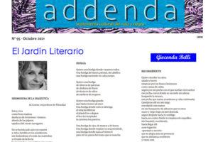 Addenda, Suplemento Cultural del RyN – Nº 95 – Octubre 2021