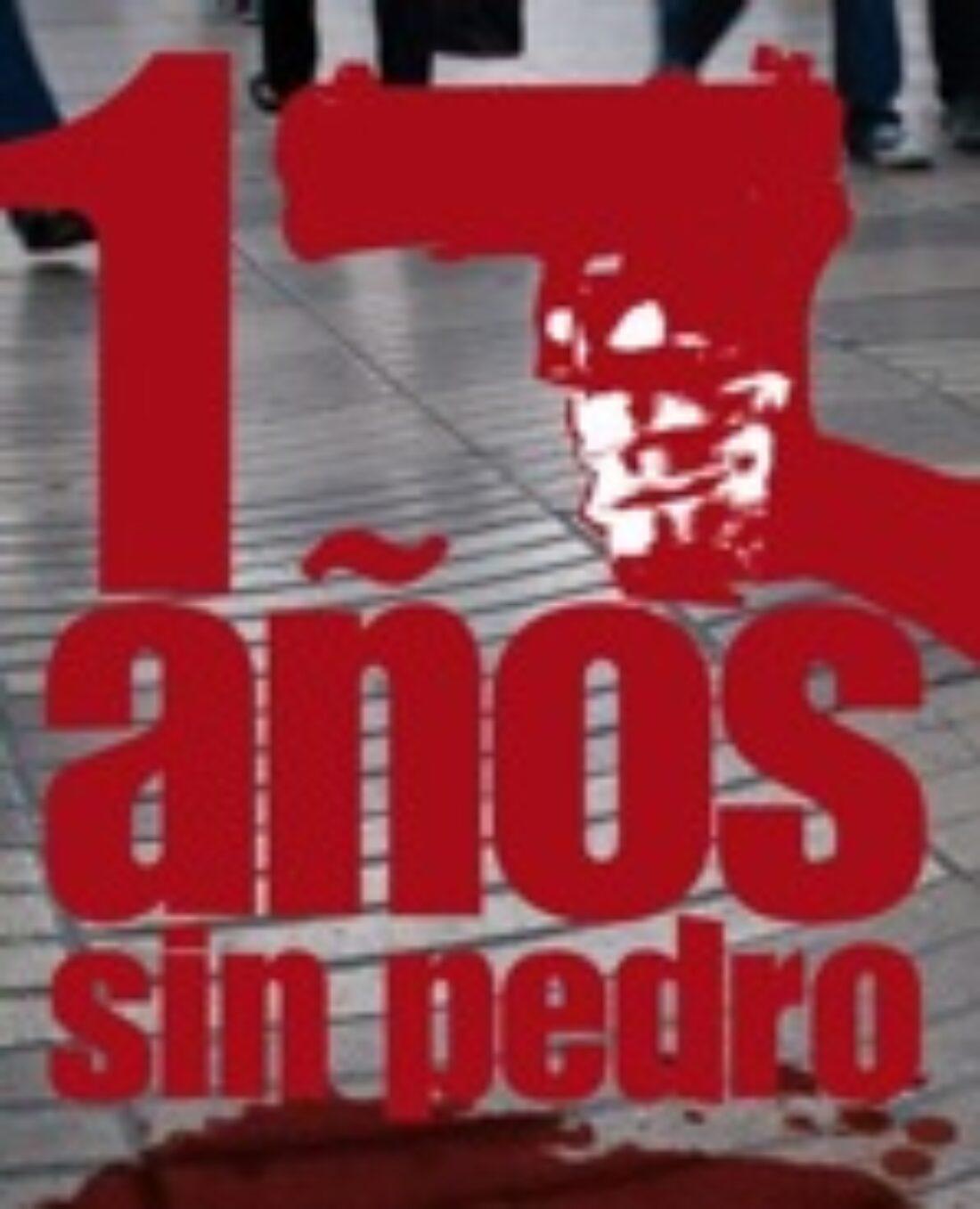 15 diciembre, Barcelona: Manifestación «17 años sin Pedro Álvarez»