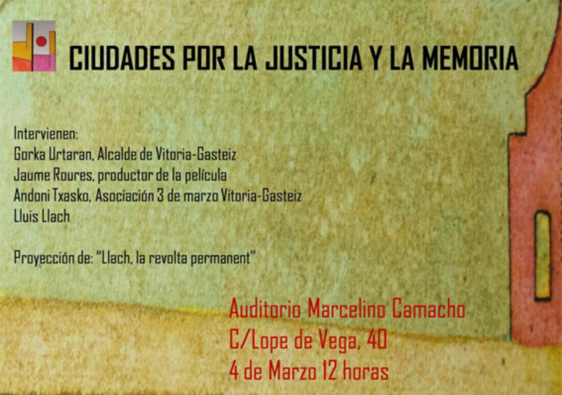 El próximo viernes 3 de marzo se cumplirán 41 años de la masacre de Vitoria