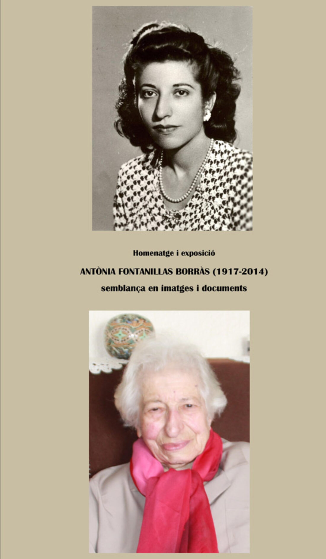 30-D: Homenaje a Antonia Fontanillas en Barcelona